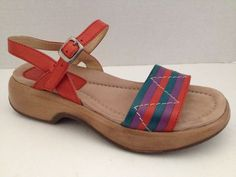 Dansko Sandals 39 Womens Shoes US Size 8.5 9 Strappy with Adjustable Ankle Strap #Dansko