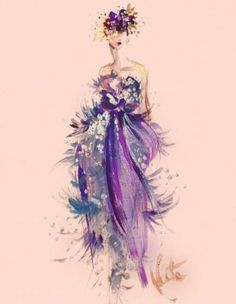 18 Ideas fashion show illustration runway Love Fashion, Runway Fashion, Trendy Fashion, Fashion Show, Vintage Fashion, Paper Fashion, Fashion Wall Art, Dress Illustration, Watercolor Fashion