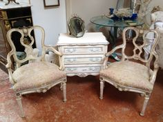1920's FRENCH CHAIRS