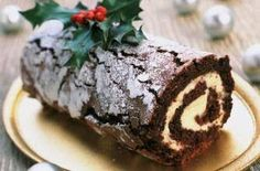 Christmas chocolate log recipe - Recipes - goodtoknow