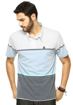Camisa Polo Reef Raw Branca - Marca Reef