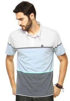 Camisa Polo Reef Raw Branca - Marca Reef