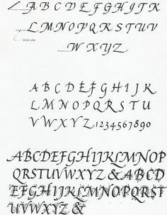 Italic (with fountain pen) - notes for each letter.   Style is Chancery Italic.  (not a course...)