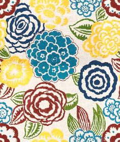 So Colorful! Sourced from India. Lee Jofa fabric called Nolita - Navy/Pink