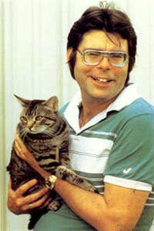 Stephen King, because he has written so many books and is still so passionate about writing.