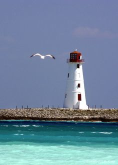 Nassau, Bahamas... I have taken this photo, for I have been on the Disney Cruise Ship and taken the photo of this lighthouse <3