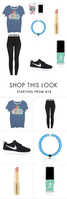 """Hdtdgzfxchch"" by pink77j ❤ liked on Polyvore featuring moda, Junk Food Clothing, Calvin Klein, NIKE, Napoleon Perdis i Jin Soon"