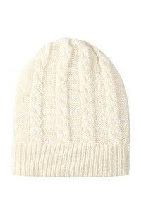 lurex knit slouch hat