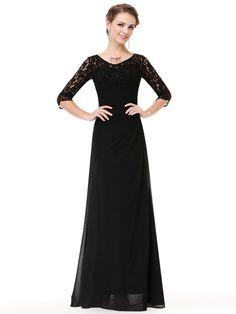 Ever-Pretty US V-neck Celebrity Dresses A-Line Chiffon Long Evening Gowns 07709