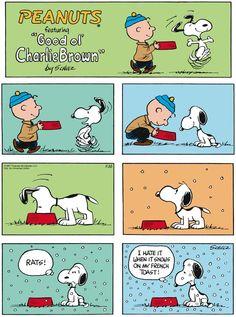 Peanuts  ~  Sunday, November 30, 2014  (originally published on Sunday, December 3, 1967)