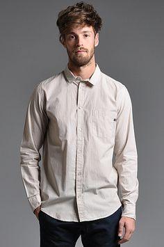 Cheap Monday Loose Pocket Stripe Shirt