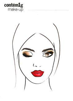 COISAS DI KAROL: Dicas de maquiagem para o Réveillon.
