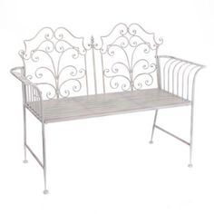 Shop Kirkland's online selection of outdoor seating for patio chairs, outdoor benches, and wicker furniture to create your own comfortable outdoor retreat. Metal Garden Furniture, Iron Furniture, Wicker Furniture, Outdoor Furniture, Outdoor Seating, Outdoor Decor, Patio Chairs, Outdoor Living, Bench