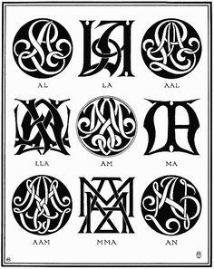PLATE VII—AL, AM, AN