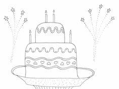 torta rajz, drawing cake, coloring page, színező