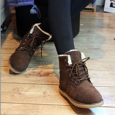 Free shipping Martin boots high women's shoes snow boots fashion boots medium-leg thermal cotton-padded shoes woman boots