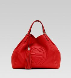 Gucci <3 Love big red bags