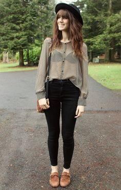 The Moptop, I'm wearing @ZOOSHOO .com top and @Urban Outfitters pants!
