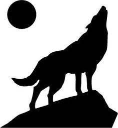 Free pumpkin stencils for halloween backdrops wolf and stencil wolf decal signarama httpamazondpb00ov5fycy pronofoot35fo Choice Image