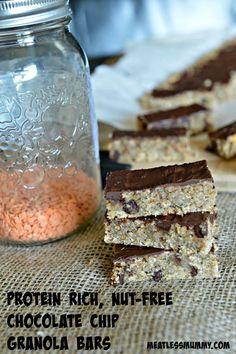 Granola lentil bars | YummyMummyClub.ca