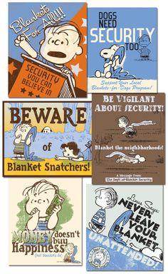 BLANKET SECURITY Linus Propaganda Art Supplement by Ridge Rooms, via Behance