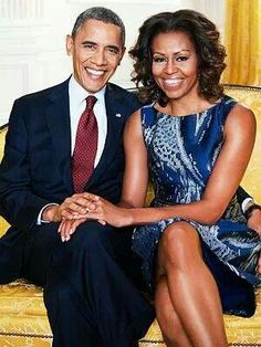 The President and First Lady. ♡♥♡♥