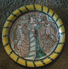 early maiolica plate (recreation) by Amata