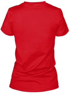 What's A Bride? Red T-Shirt Back