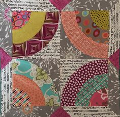Delilah Quilt BOM by Jen Kingwell~Month 2 @intown Quilters