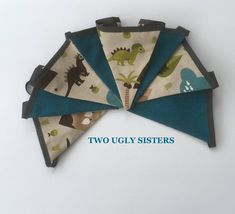 Your place to buy and sell all things handmade Pink Bunting, Bunting Flags, Teal Blue, Blue Green, Teal Highlights, Teal Fabric, Playroom Decor, Tooth Fairy, Vulnerability
