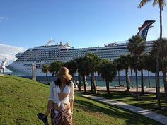 South Point Park Miami Beach. Love this location.