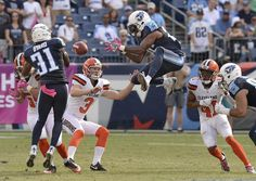 Browns vs. Titans:      October 16, 2016  -  28-26, Titans  -       Tennessee Titans' ' Rashad Johnson, center, and Kevin Byard (31) try to control an onside kick by Cleveland Browns kicker Cody Parkey (3) in the second half of an NFL football game Sunday, Oct. 16, 2016, in Nashville, Tenn. The Browns recovered the ball on the play. (AP Photo/Mark Zaleski)