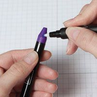 Several ways to use blender pens with chalk, watercolor crayons, stamps and more.