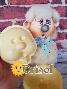 Biscuit, Kokeshi Dolls, Pasta Flexible, Sheep, Polymer Clay, Diy And Crafts, Projects To Try, Creative Crafts, Animal Faces