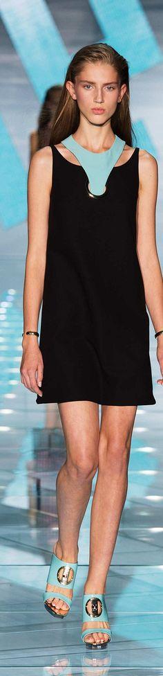 Versace Collection Spring 2015. Please like http://www.facebook.com/RagDollMagazine and follow @RagDollMagBlog @priscillacita