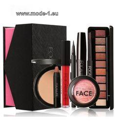 Kosmetik Make-UP Puder Augen Make-Up Augenbraue Bleistift Mascara Lippenstift für den täglichen Gebrauch Set