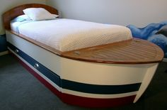Boat bed with some dimensions