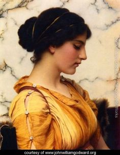 Sabinella by John William Godward (1861-1922)
