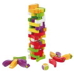 bouwen met groeten en fruit