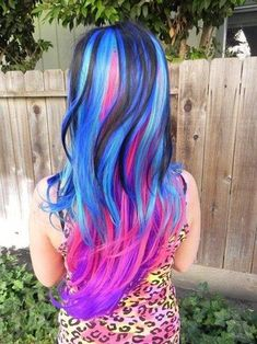 Colorful Hairstyles Interesting Hair Chalking  Hairstyles For Long Hair  Pinterest  Hair Chalk