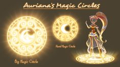 Magic Circles part 1 - The Princess TeamHere are some Magic Circles : Iris, Talia and Auriana's ! FX by José Lemaire / Color FX by Elisabeth Mustel and Jullian Goff