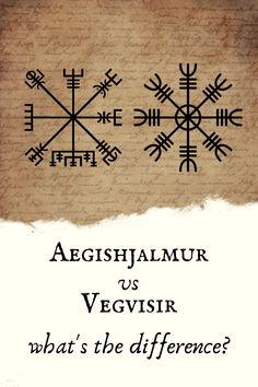 Viking Tattoo Symbol, Viking Compass Tattoo, Symbol Tattoos With Meaning, Viking Tattoos, Celtic Tattoos, Indian Tattoos, Viking Symbols And Meanings, Pagan Symbols, Ancient Symbols