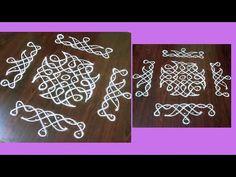 Rangoli Designs Photos, Simple Rangoli Border Designs, Easy Rangoli Designs Diwali, Mehndi Designs For Kids, Rangoli Designs Flower, Free Hand Rangoli Design, Rangoli Patterns, Small Rangoli Design, Rangoli Designs With Dots