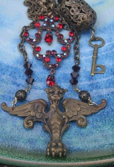 Exhilarating Jewelry And The Darkside Fashionable Gothic Jewelry Ideas. Astonishing Jewelry And The Darkside Fashionable Gothic Jewelry Ideas. Steam Punk Jewelry, Gothic Jewelry, Boho Jewelry, Fashion Jewelry, Fashion Clothes, Vintage Jewelry, Jewellery, Medieval Fashion, Gothic Fashion