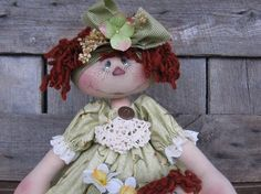 Pickled Faced Raggedy Annie e pattern by Deena