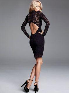 Open-Back Lace Dress - Victoria's Secret