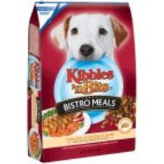 Kibbles Bistro Meals Oven Roasted Dog Food Grilled Chicken Flavor 16 LB (Pack of 9) --- You can visit the image link more details. (This is an affiliate link and I receive a commission for the sales)