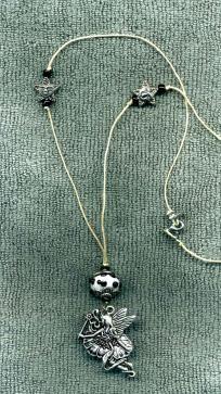 Fairy Magic NEW Hemp Cord Necklace, Black Glass Bead *Free Shipping* Black Fairy, Black Glass, Pagan, Hemp, Fairies, Glass Beads, Cord, Bright, Free Shipping