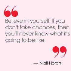 Niall Horan quote. Teen Vogue.