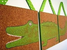 corkboard--so cute! Would match the boys' playroom we painted! Diy And Crafts, Arts And Crafts, Cork Wall, Cork Tiles, Little Tykes, Board For Kids, How To Make Ribbon, Projects To Try, Art Projects
